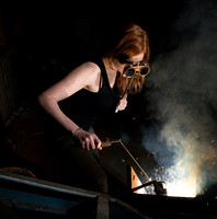Creative Shoot - Steel and Sparks