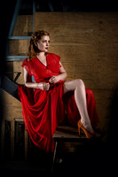 Creative Shoot - Lady in Red